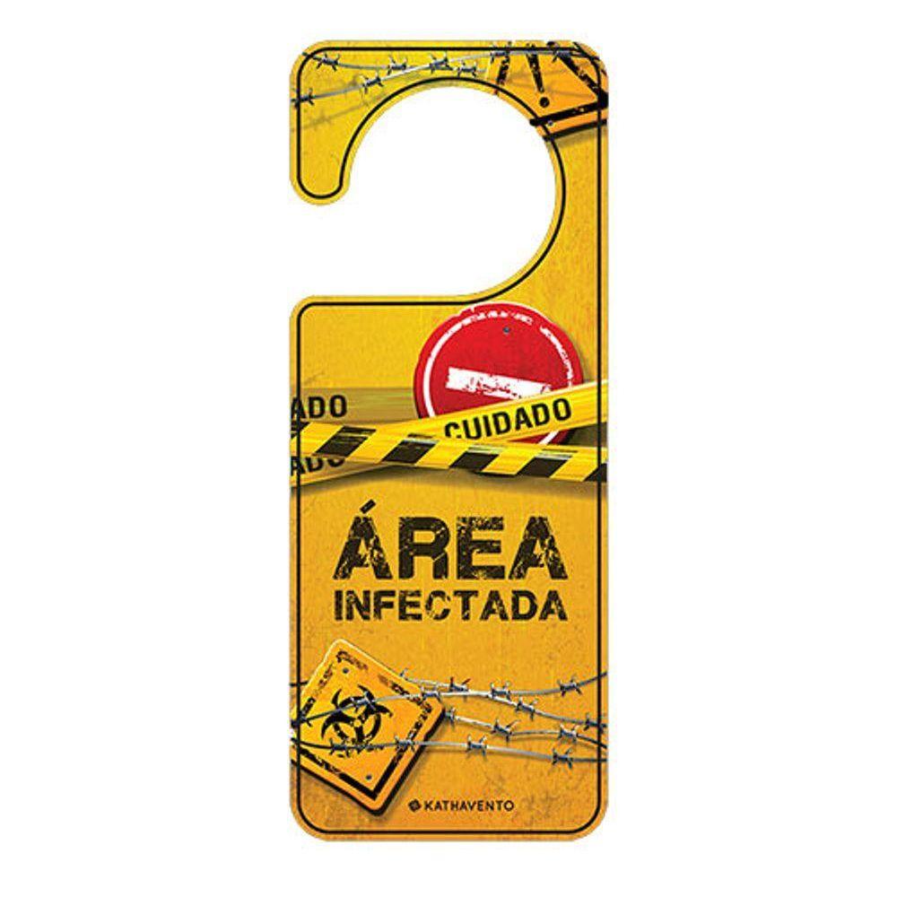 Aviso de Porta Área Infectada