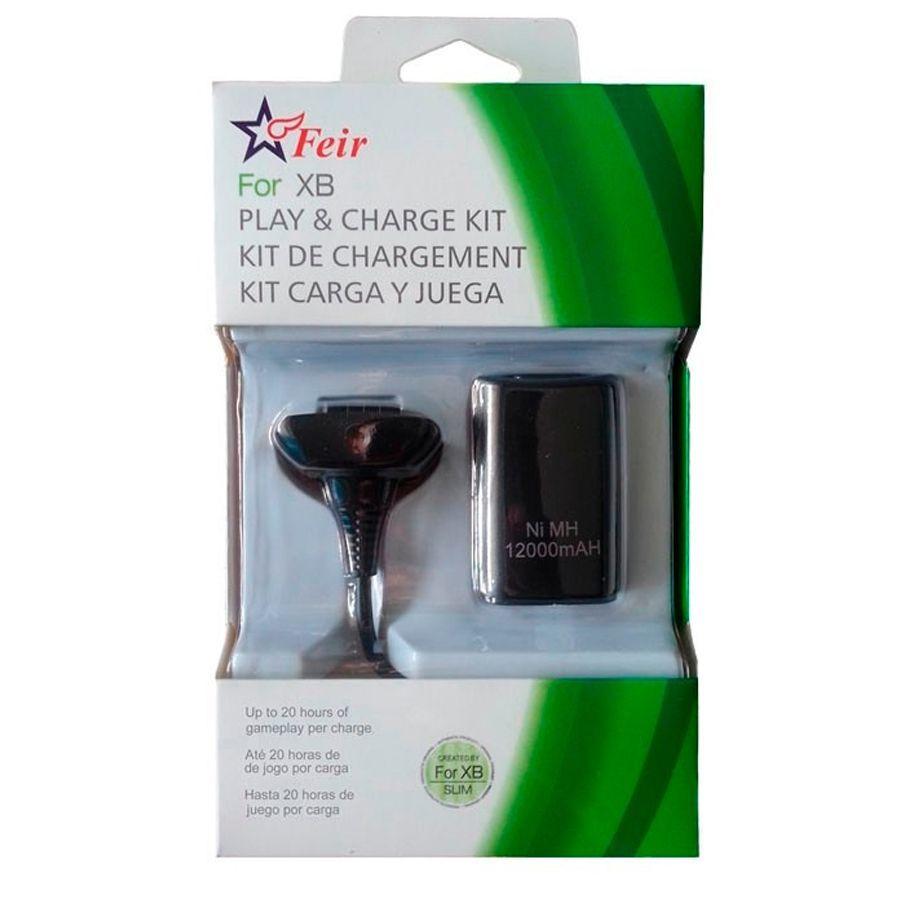 Bateria Recarregável + Carregador Feir