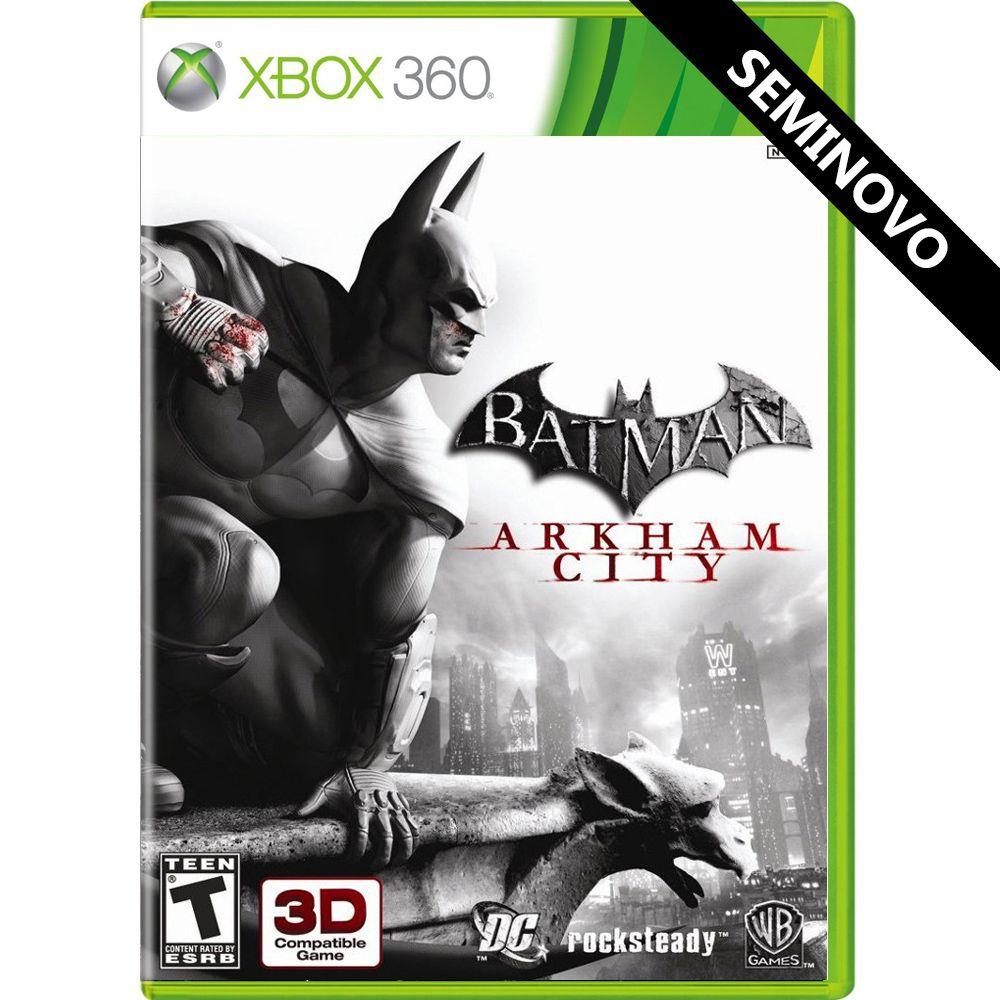 Batman Arkham City - Xbox 360 (Seminovo)