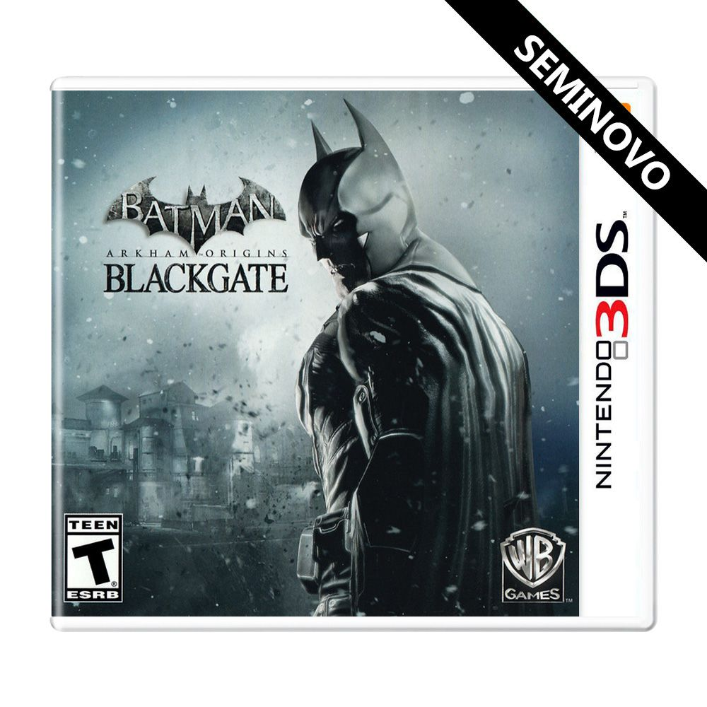 Batman: Arkham Origins Blackgate - 3DS (Seminovo)