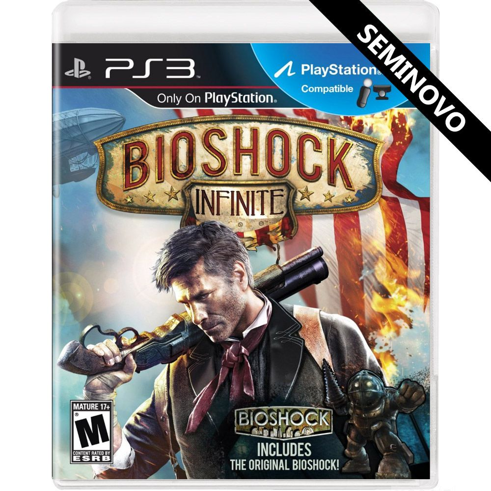 Bioshock Infinite - PS3 (Seminovo)