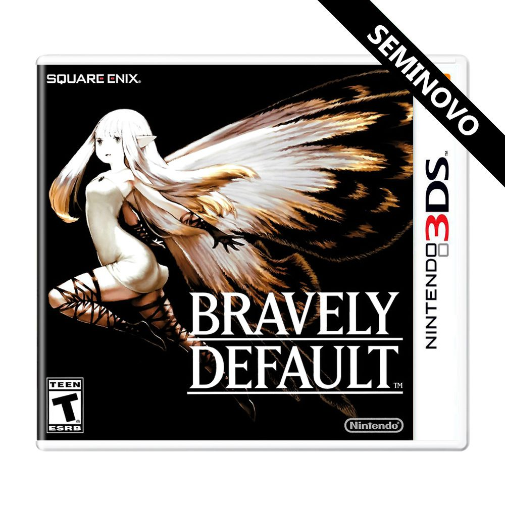 Bravely Default - 3DS (Seminovo)