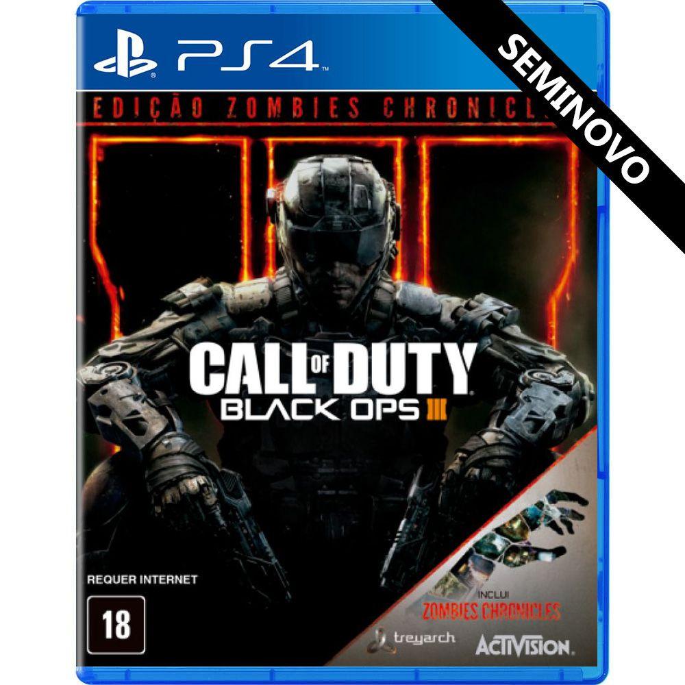 Call of Duty Black Ops 3 Edição Zombies Chronicles - PS4 (Seminovo)