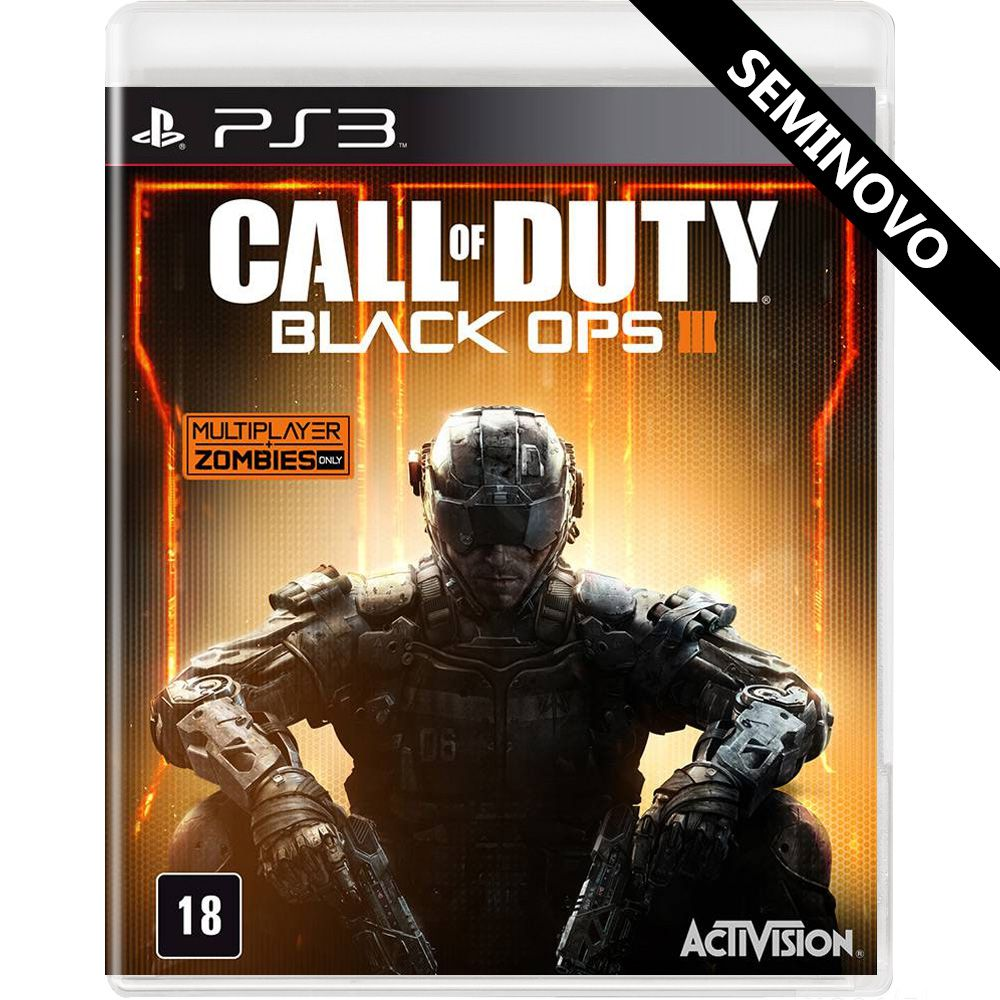 Call of Duty Black Ops 3 - PS3 (Seminovo)