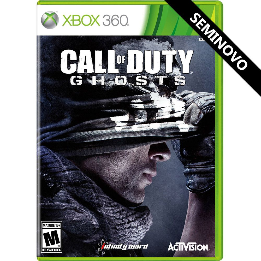 Call of Duty Ghosts - Xbox 360 (Seminovo)