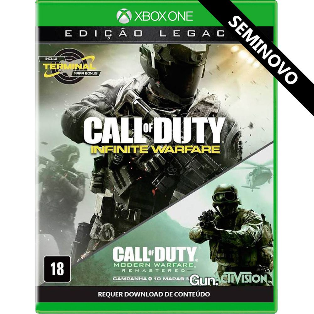 Call of Duty Infinite Warfare Edição Legacy - Xbox One (Seminovo)