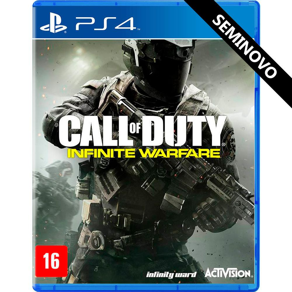 Call of Duty Infinite Warfare - PS4 (Seminovo)