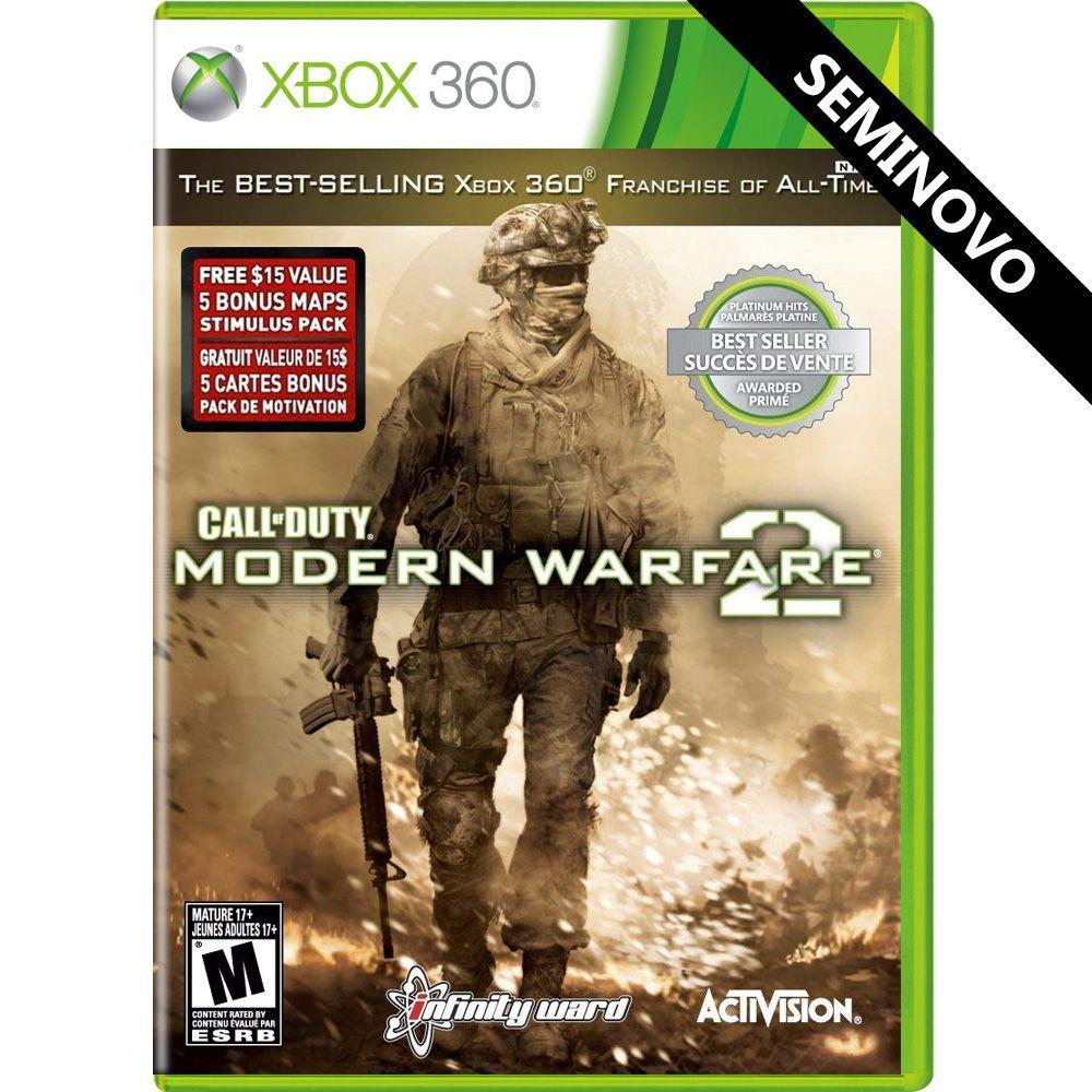Call of Duty Modern Warfare 2 - Xbox 360 (Seminovo)
