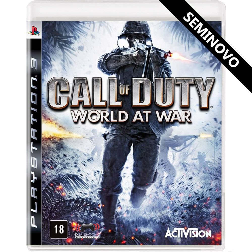 Call of Duty World at War - PS3 (Seminovo)
