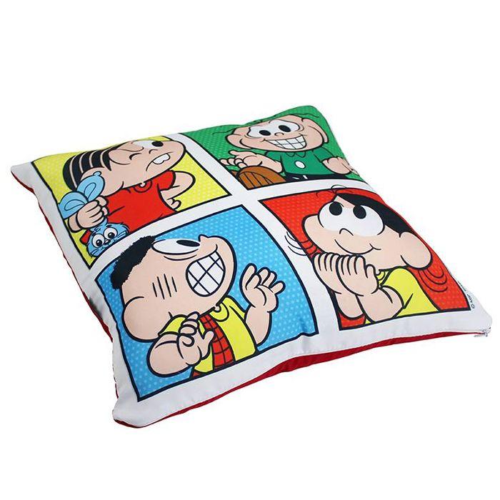 Capa de Almofada Turma da Mônica Quadrinhos