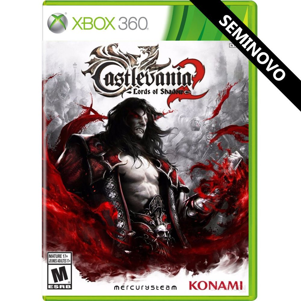 Castlevania Lords of Shadow 2 - Xbox 360 (Seminovo)