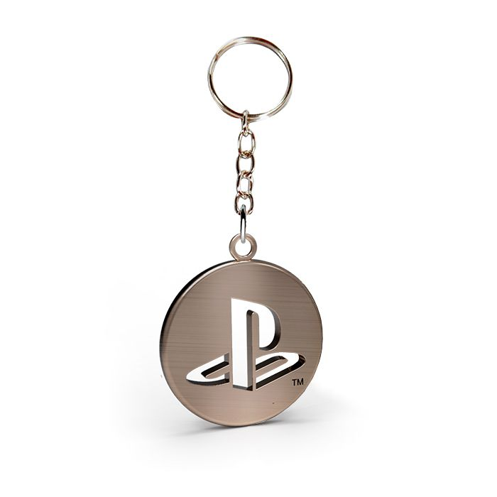 Chaveiro de Metal Logo Playstation