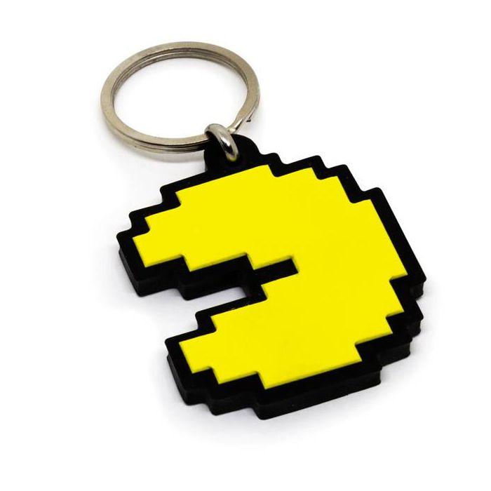 Chaveiro Emborrachado Pac-Man