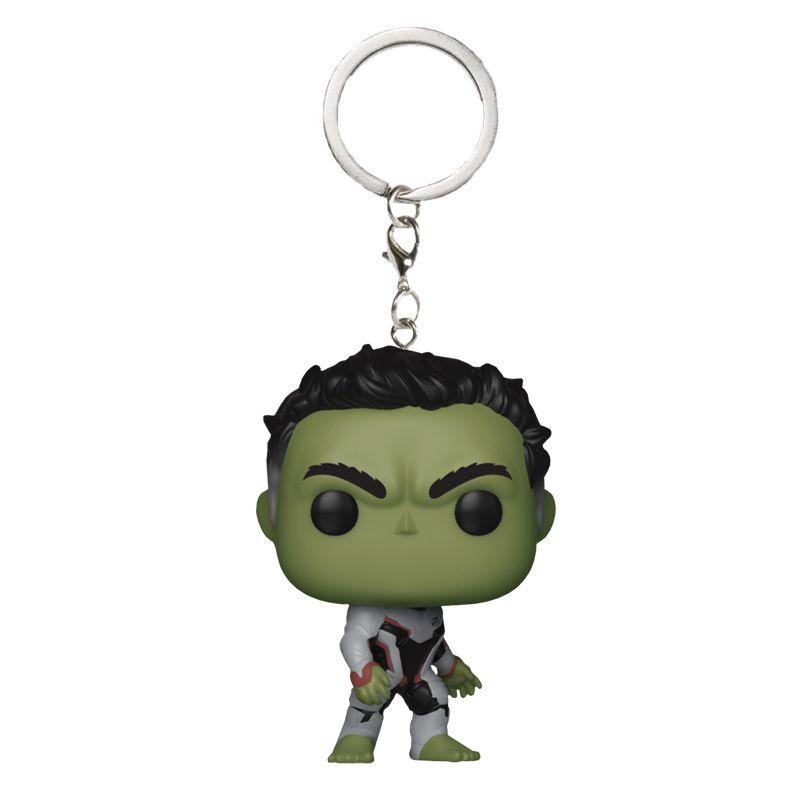 Chaveiro Funko Pocket Hulk com traje Reino Quântico (Vingadores: Ultimato)
