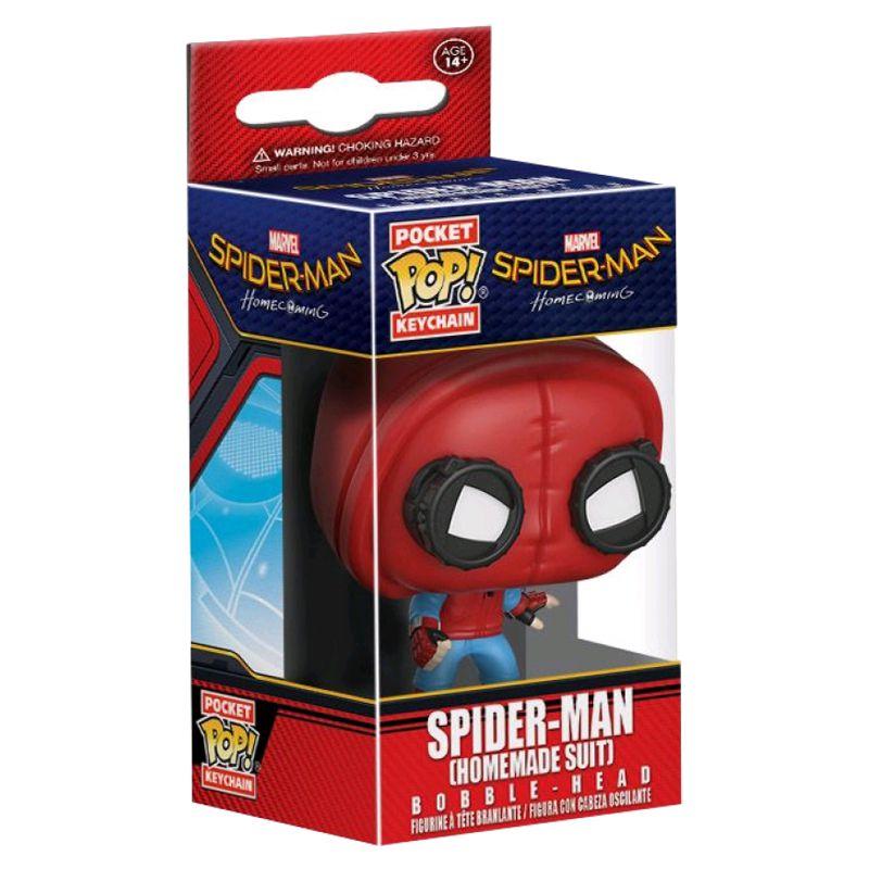 Chaveiro Funko Pocket Pop Homem Aranha (Homemade Suit)