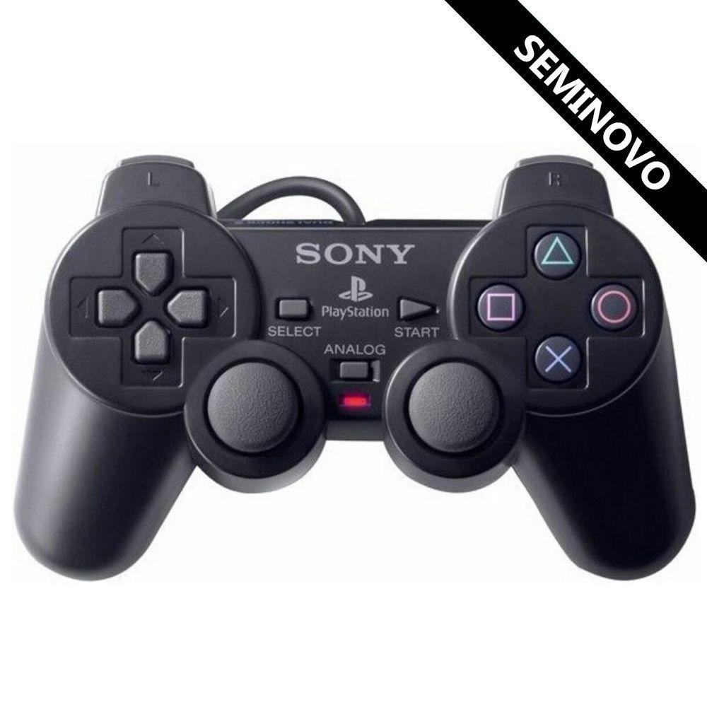Controle Dualshock 2 Sony Original (Seminovo)
