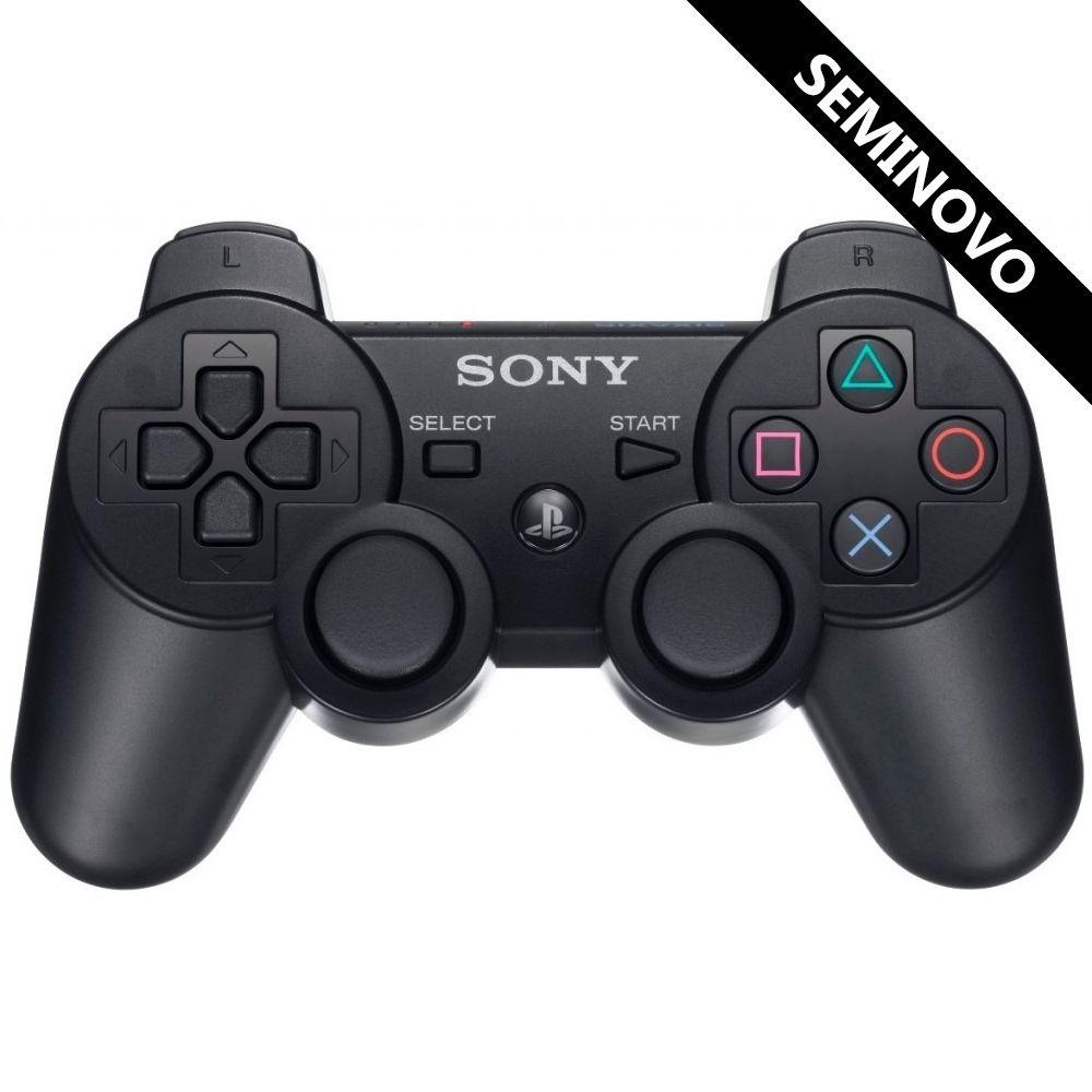 Controle Dualshock 3 sem fio Sony ORIGINAL (Seminovo)