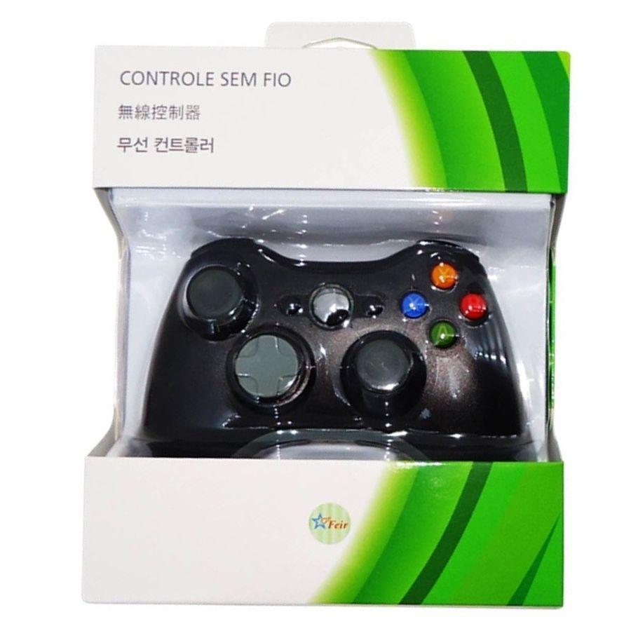 Controle para Xbox 360 sem fio Feir