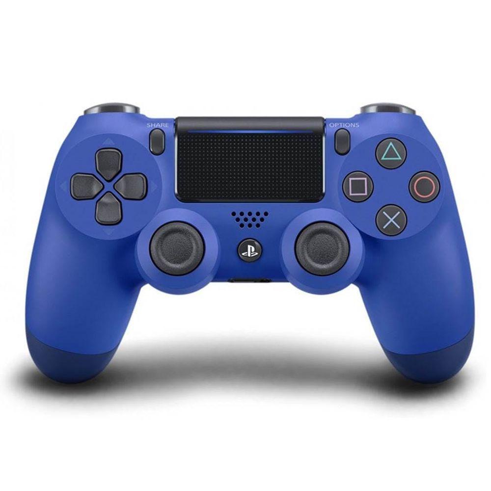 Controle PS4 Sem Fio Dualshock 4 Slim Azul