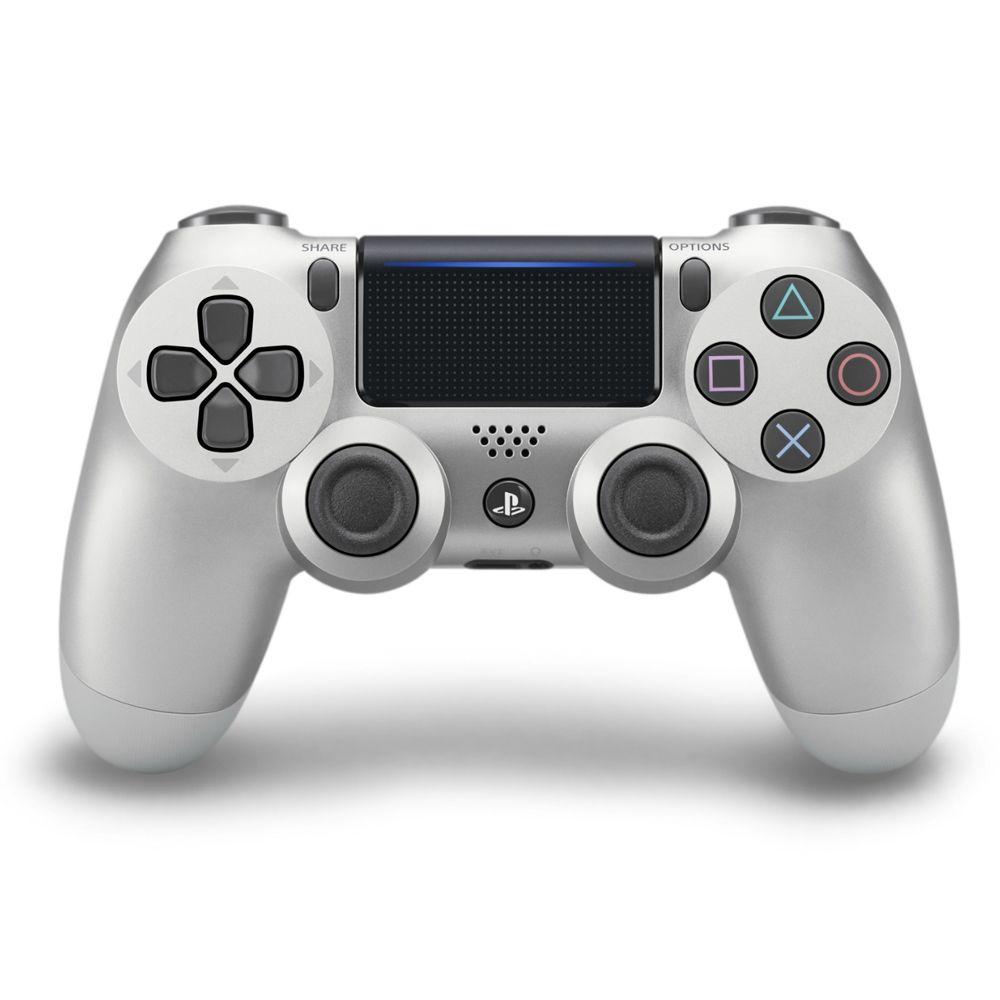 Controle PS4 Sem Fio Dualshock 4 Slim Prata