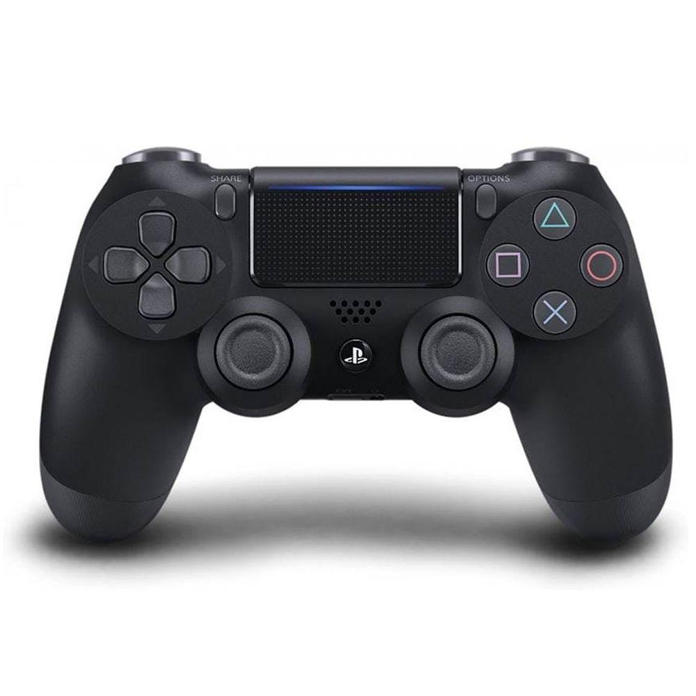Controle PS4 Sem Fio Dualshock 4 Slim Preto