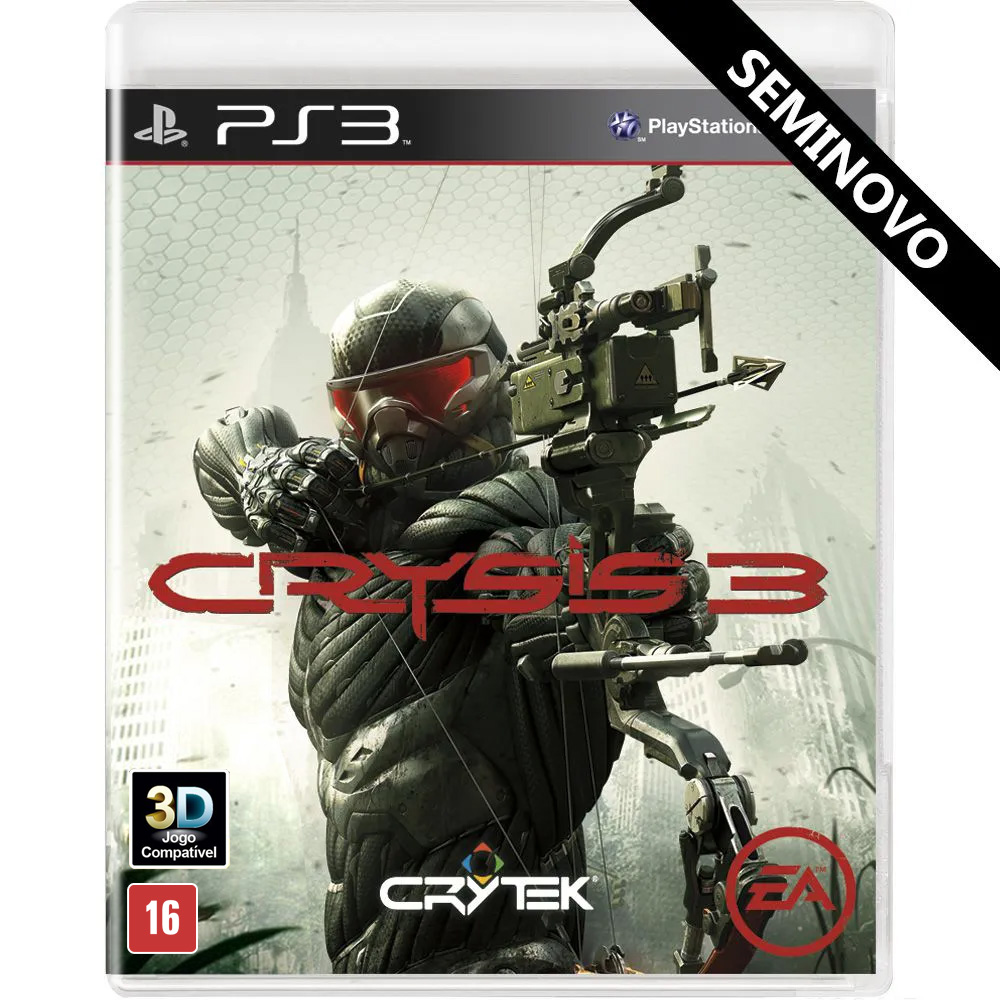 Crysis 3 - PS3 (Seminovo)