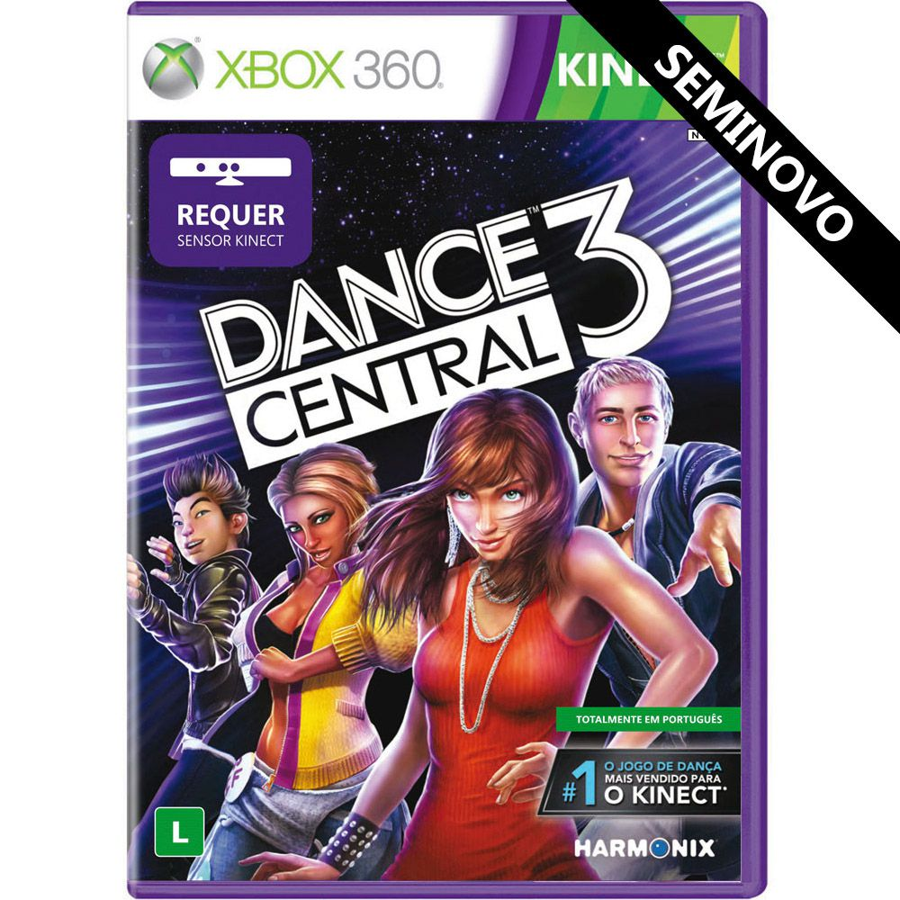 Dance Central 3 - Xbox 360 (Seminovo)