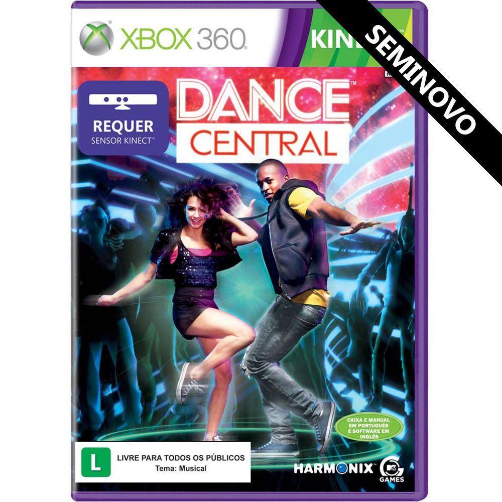 Dance Central - Xbox 360 (Seminovo)