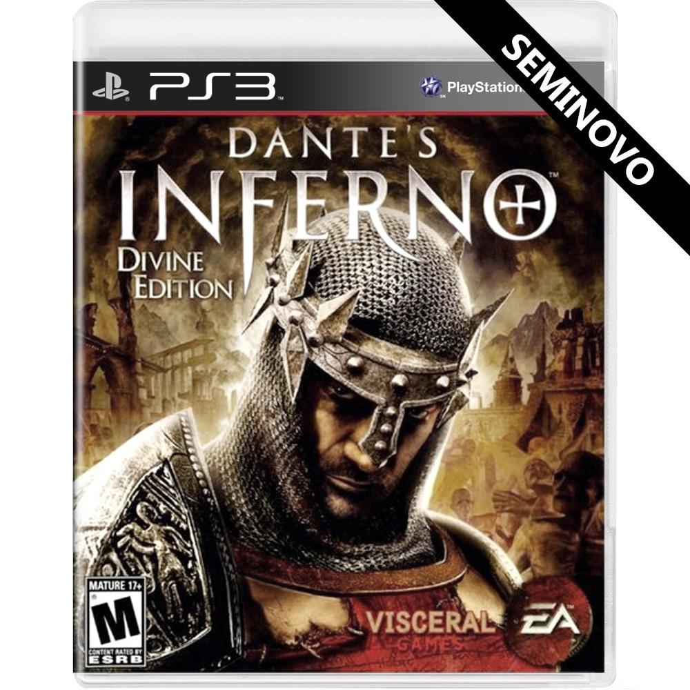 Dantes Inferno Divine Edition - PS3 (Seminovo)
