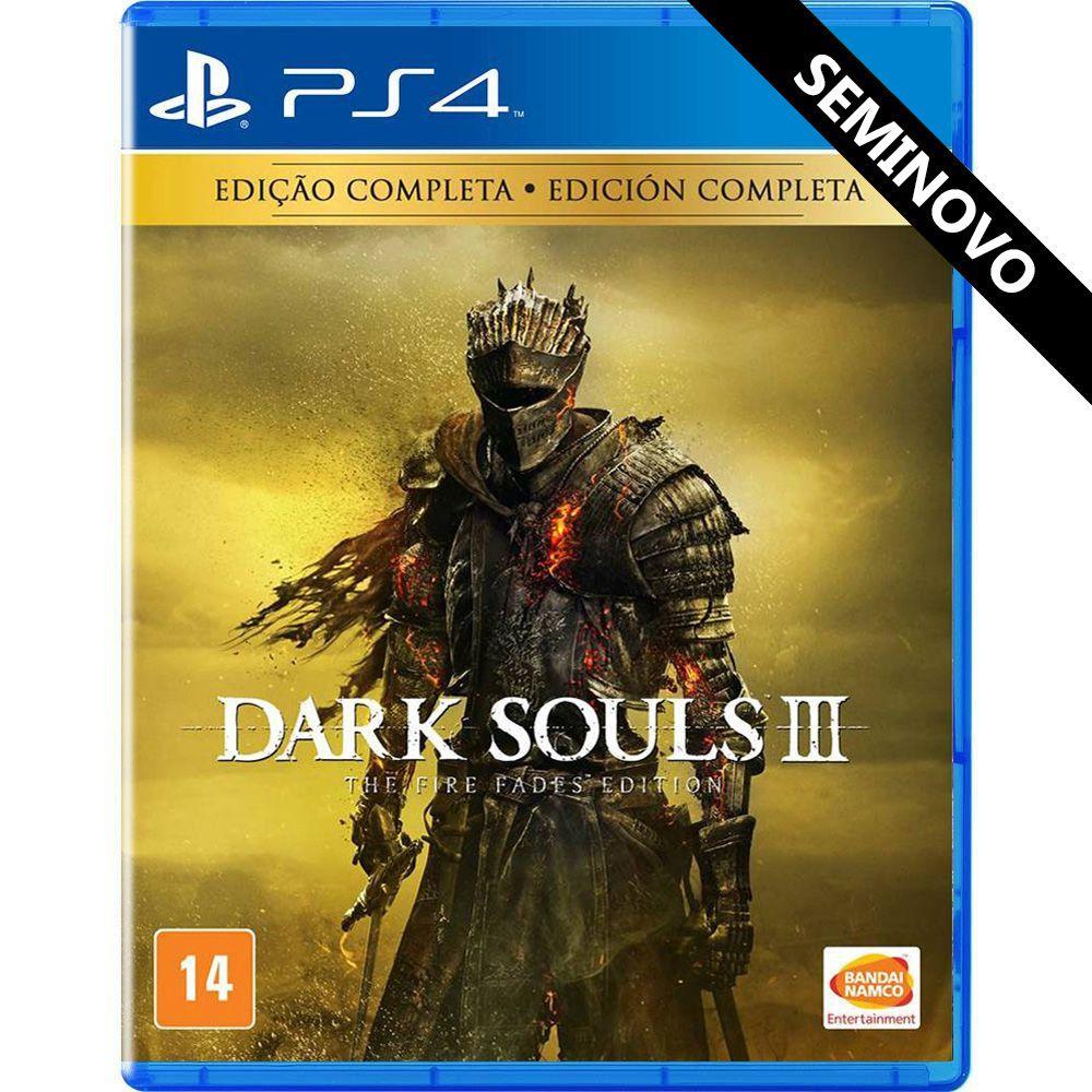 Dark Souls 3 The Fire Fades Edition - PS4 (Seminovo)