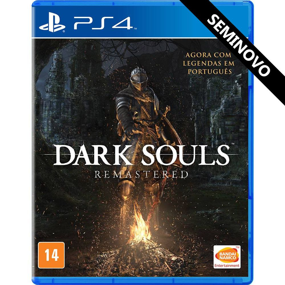 Dark Souls Remastered - PS4 (Seminovo)