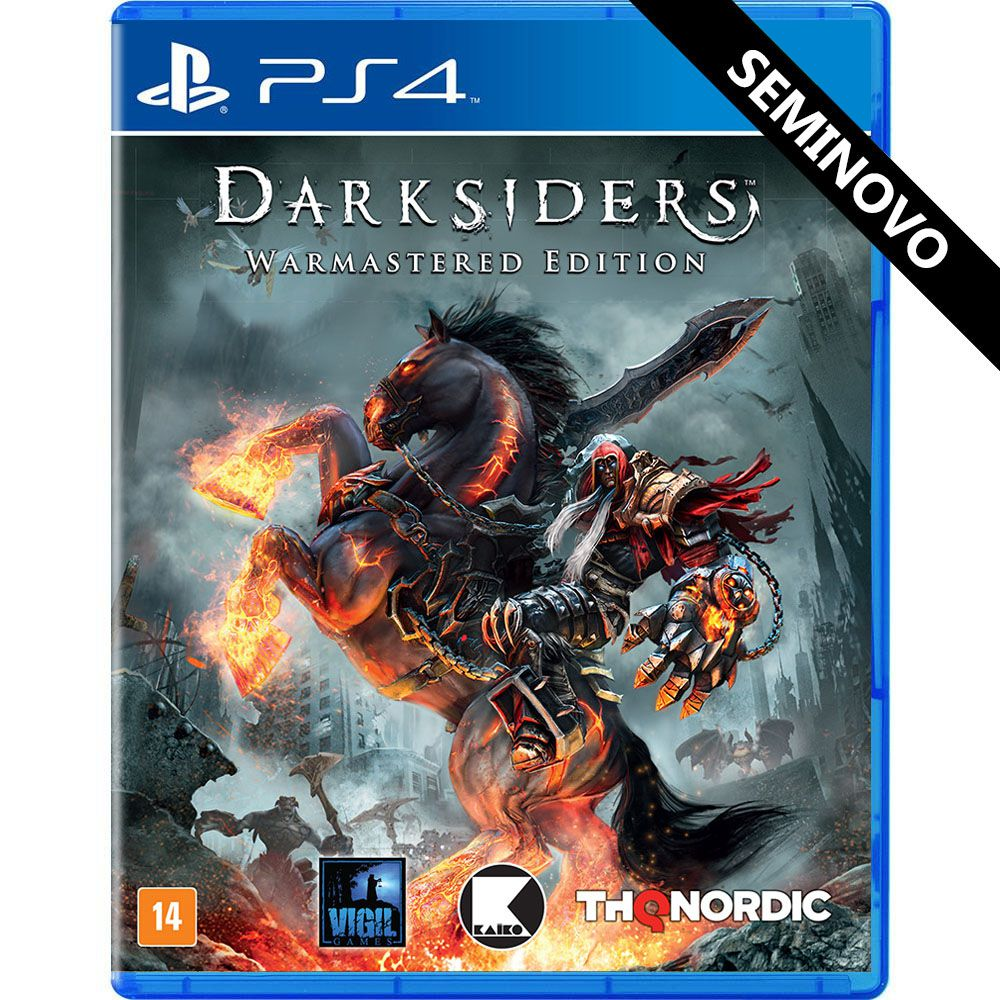 Darksiders Warmastered Edition - PS4 (Seminovo)
