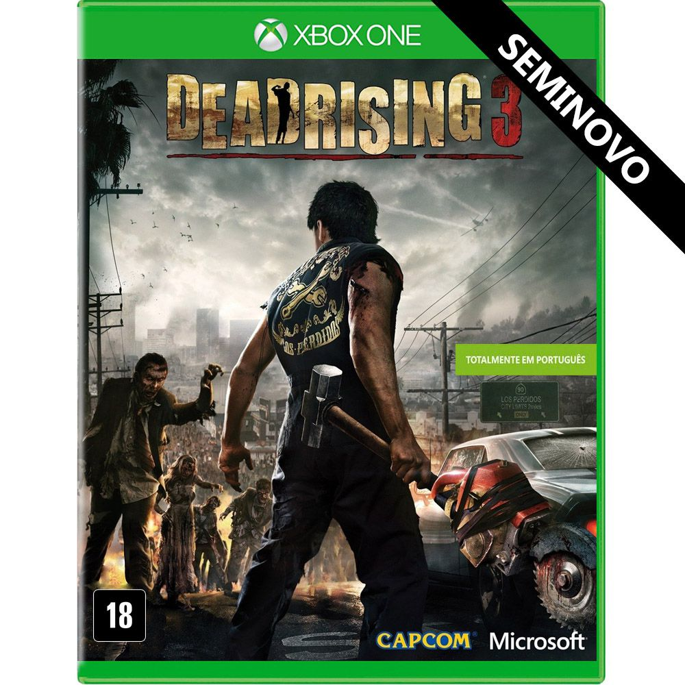 Dead Rising 3 - Xbox One (Seminovo)