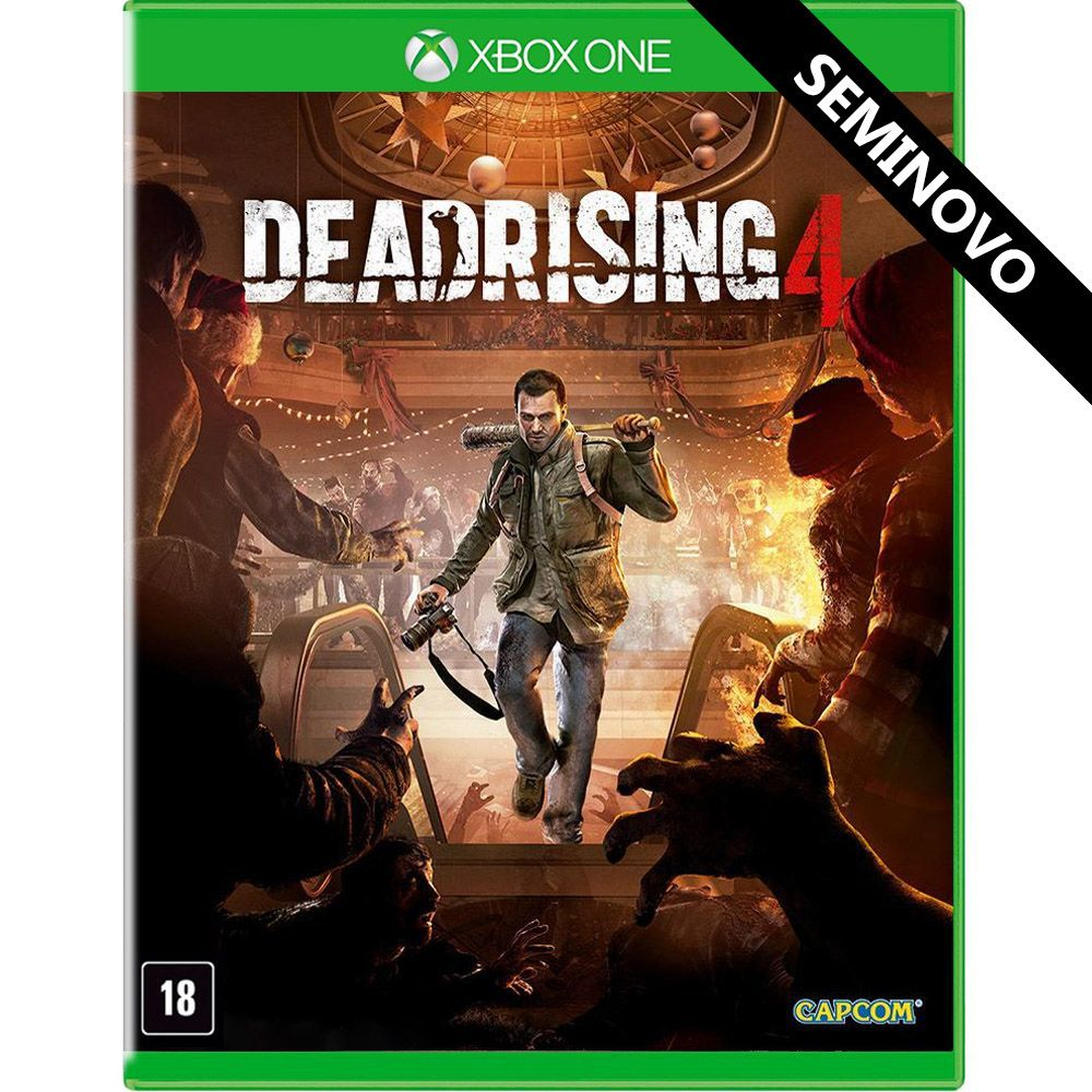 Dead Rising 4 - Xbox One (Seminovo)