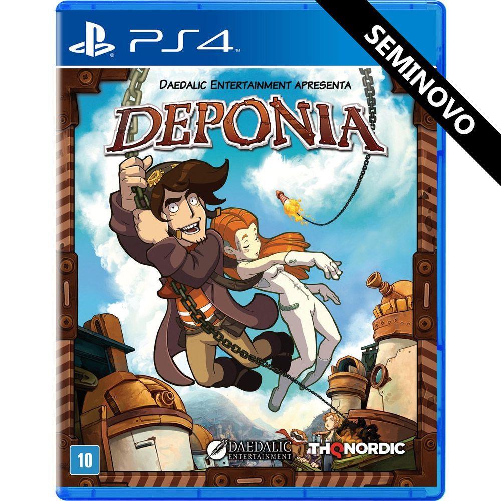 Deponia - PS4 (Seminovo)