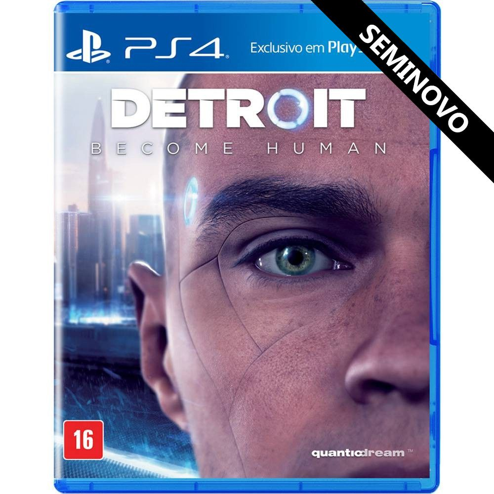 Detroit Become Human - PS4 (Seminovo)