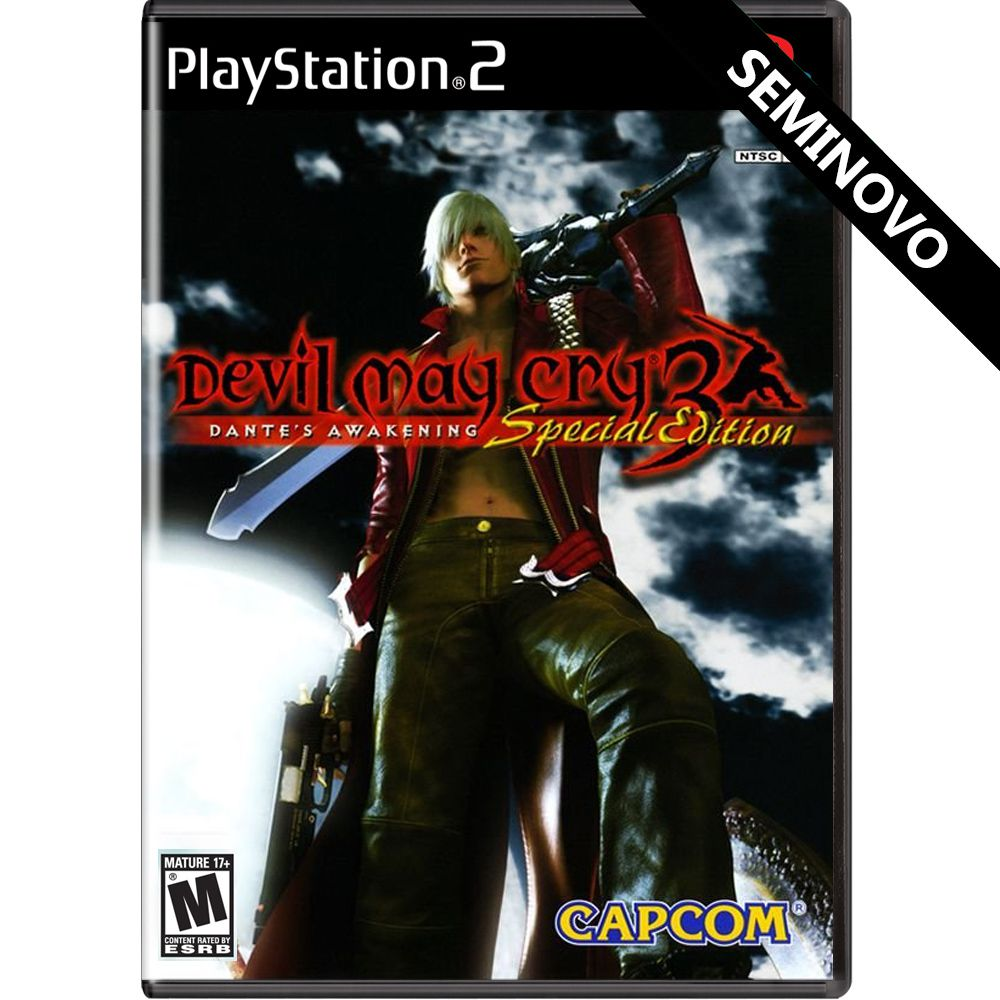 Devil May Cry 3 Dante's Awakening Special Edition - PS2 (Seminovo)