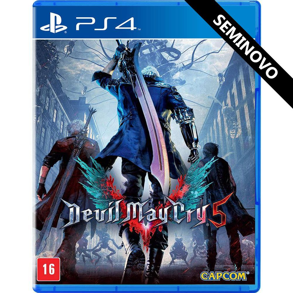 Devil May Cry 5 - PS4 (Seminovo)
