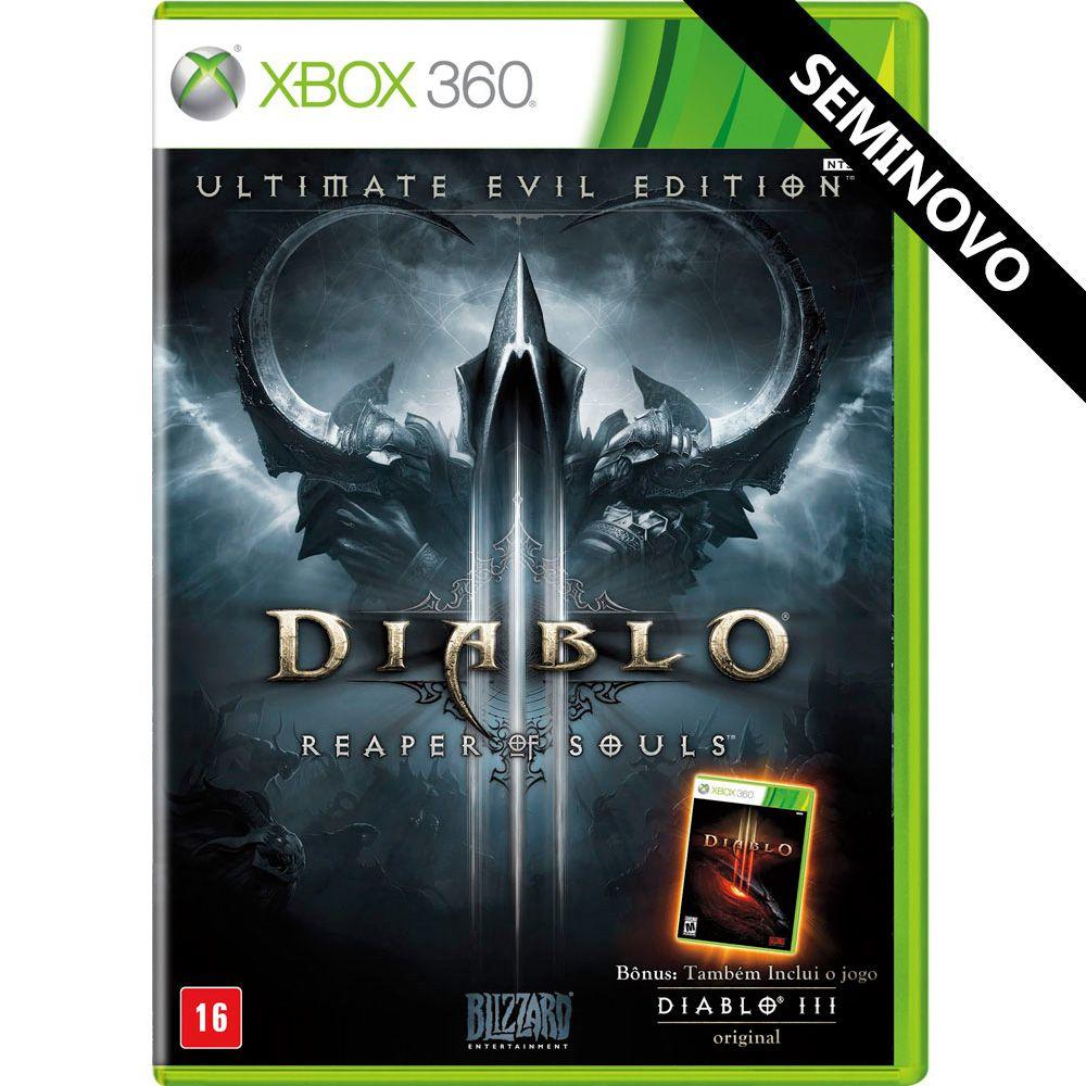 Diablo III Reaper of Souls Ultimate Evil Edition - Xbox 360 (Seminovo)