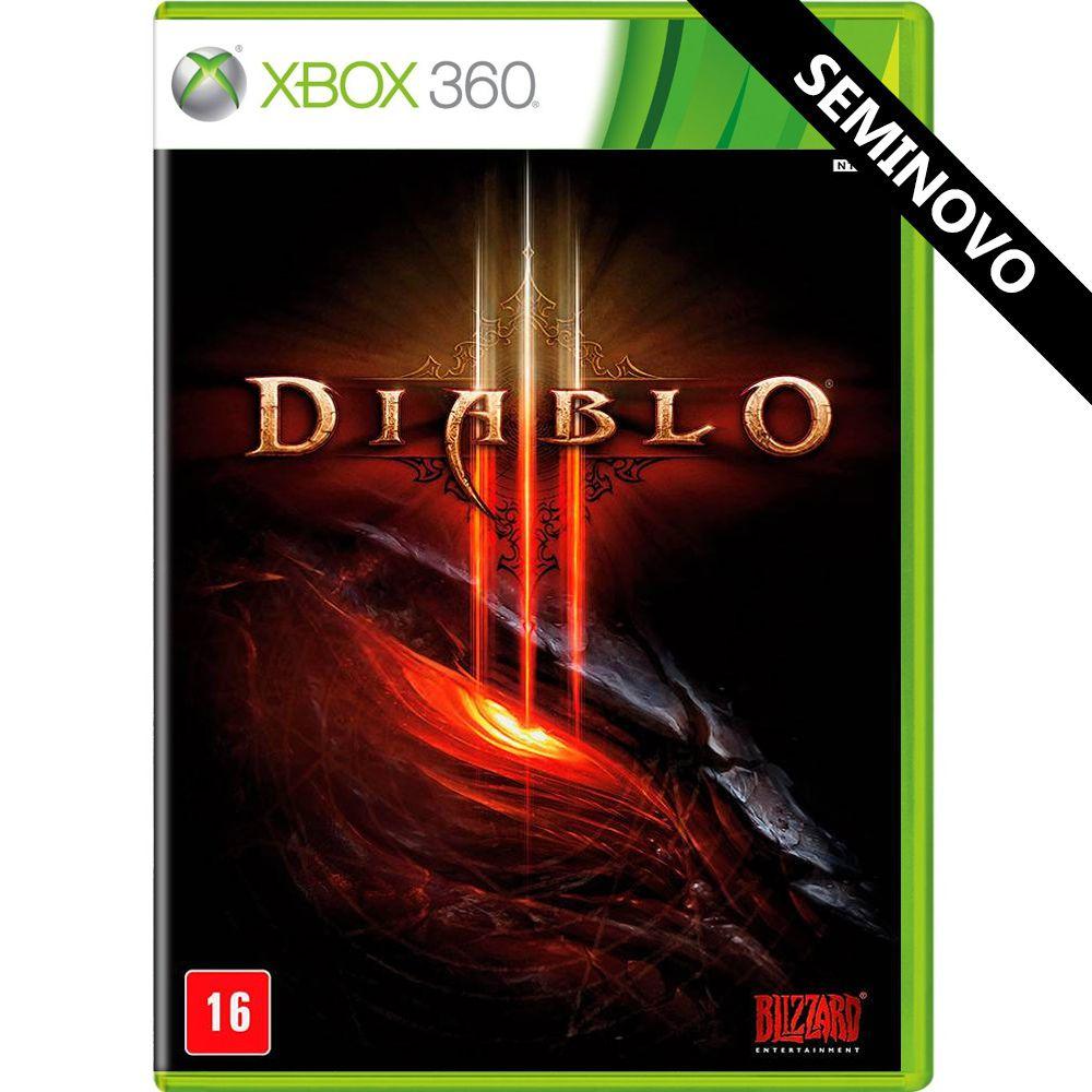 Diablo III - Xbox 360 (Seminovo)