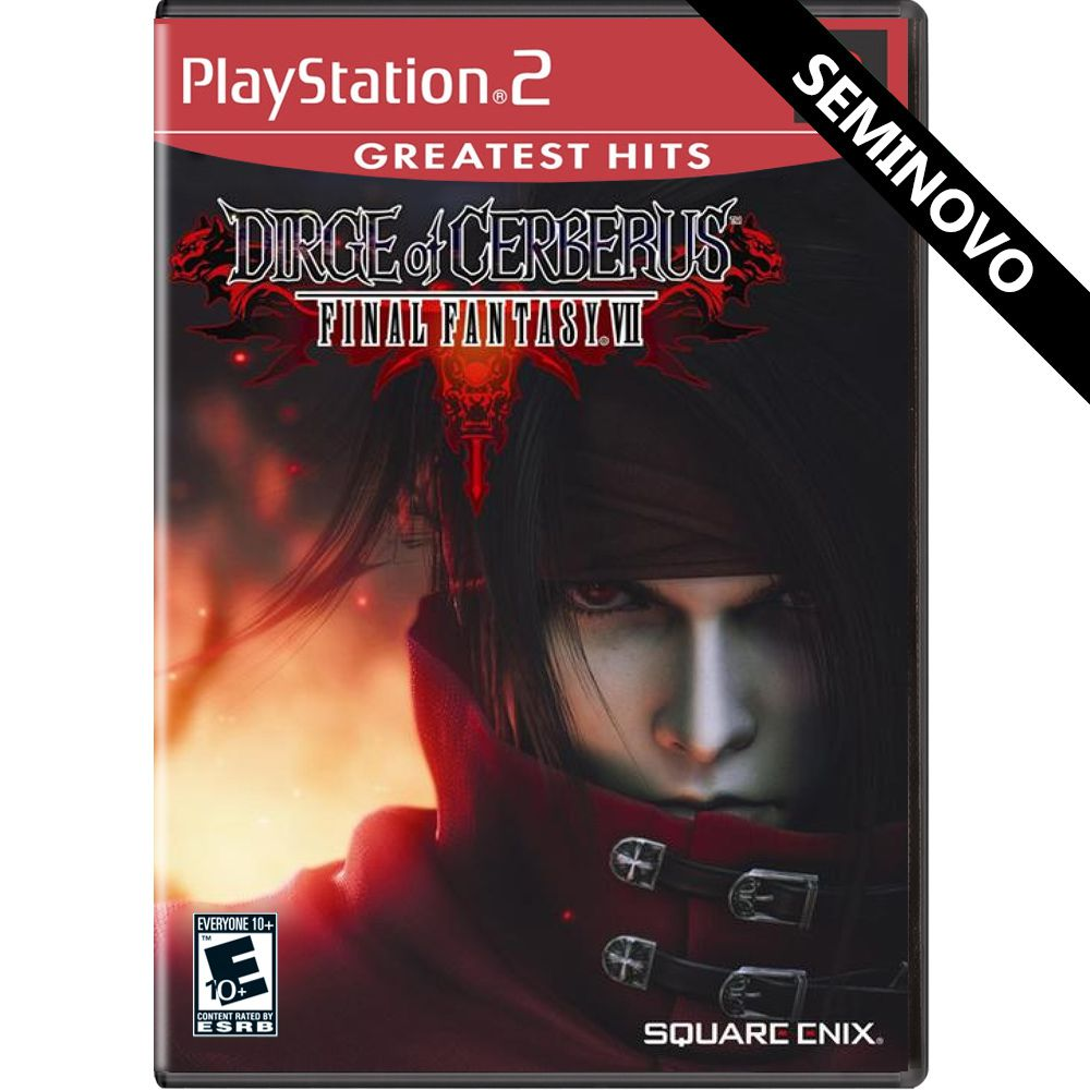 Dirge of Cerberus Final Fantasy VII (Greatest Hits) - PS2 (Seminovo)