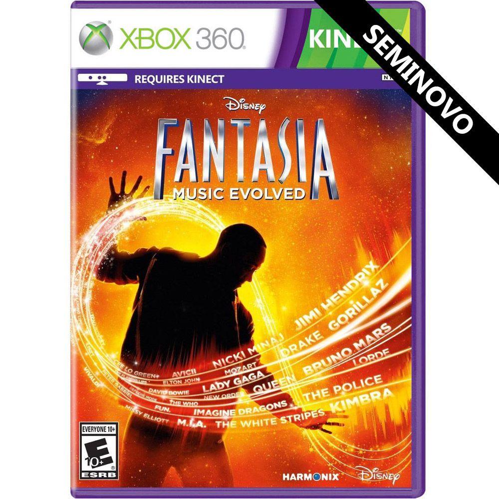 Disney Fantasia Music Evolved - Xbox 360 (Seminovo)