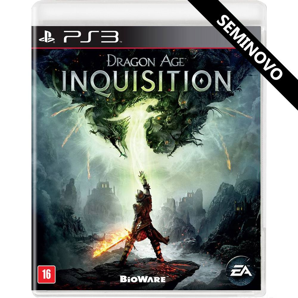 Dragon Age Inquisition - PS3 (Seminovo)