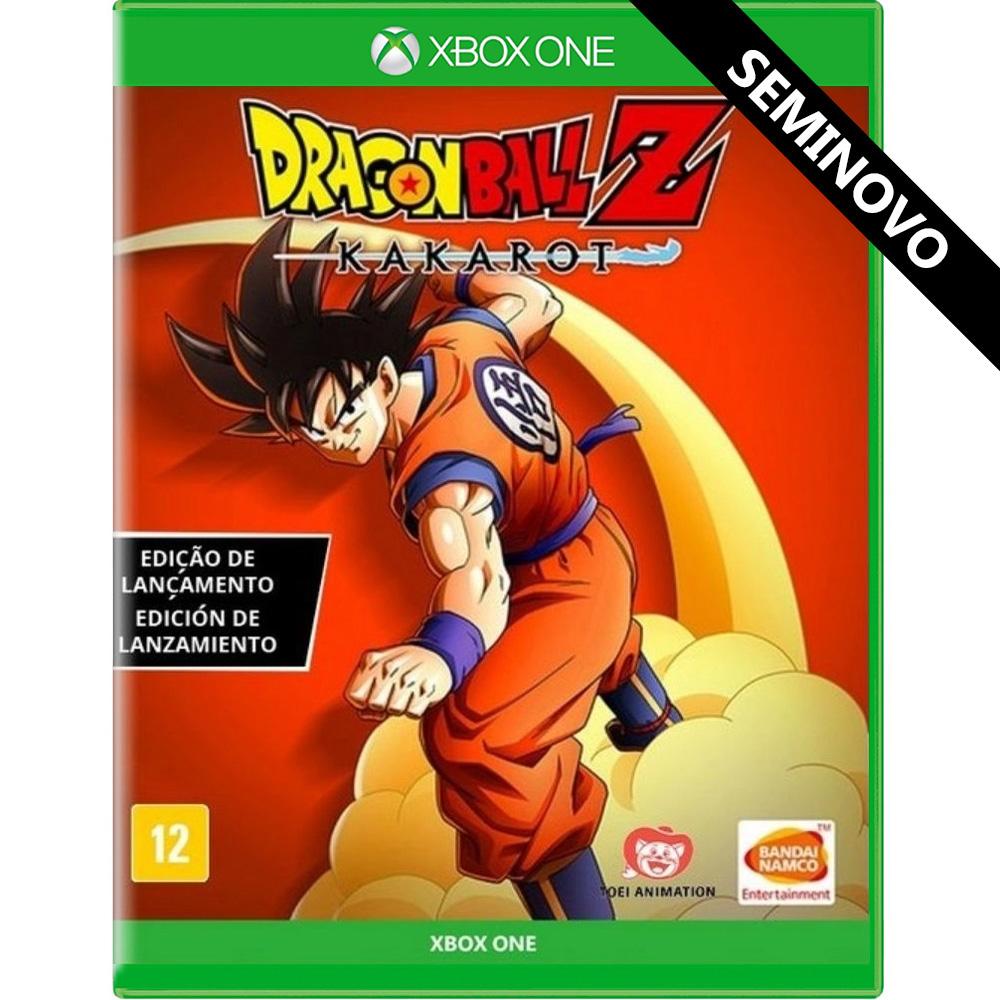 Dragon Ball Z Kakarot - Xbox One (Seminovo)