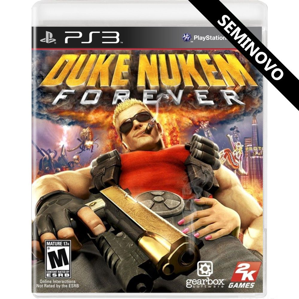 Duke Nukem Forever - PS3 (Seminovo)