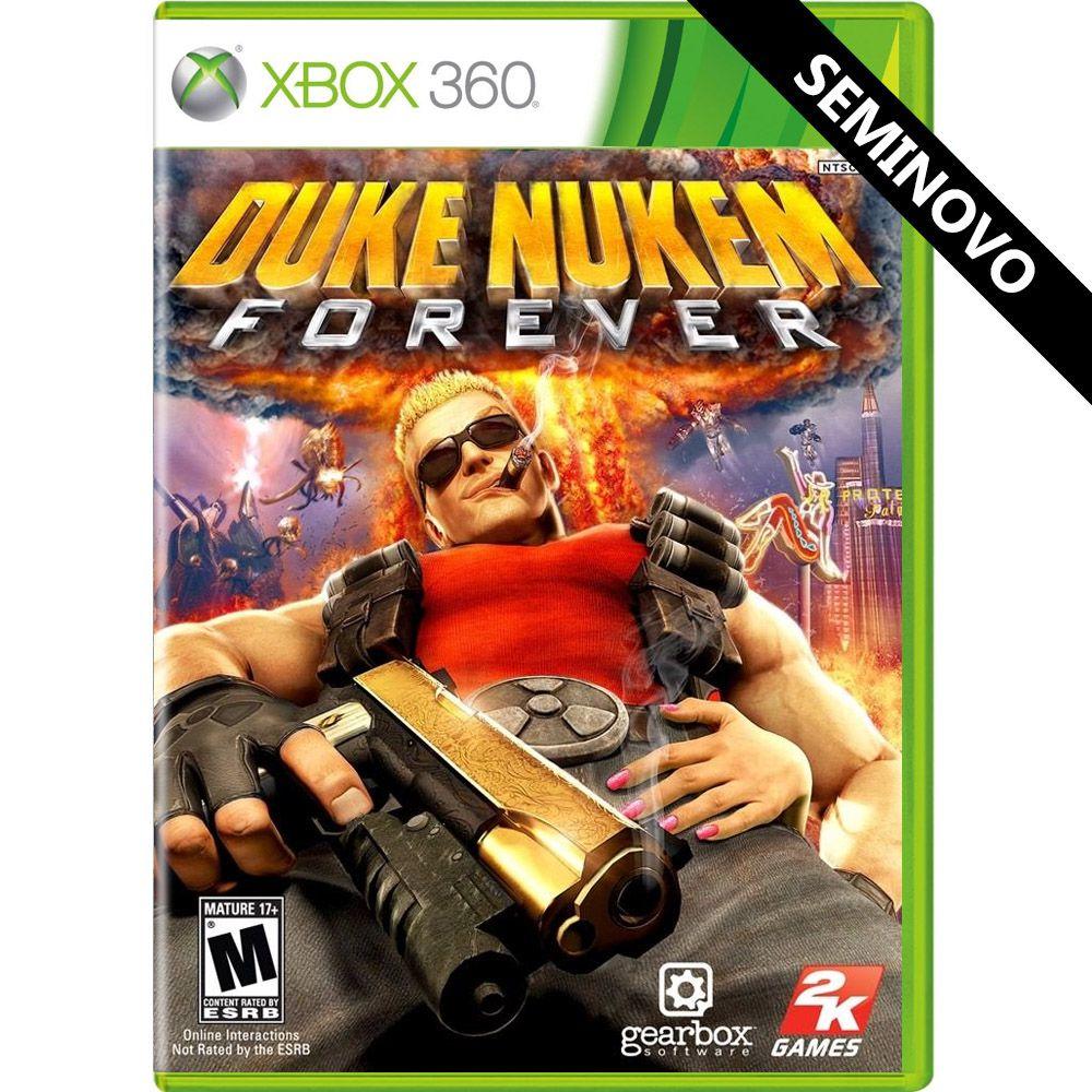 Duke Nukem Forever - Xbox 360 (Seminovo)