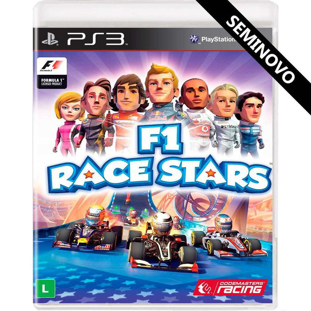 F1 Race Stars - PS3 (Seminovo)