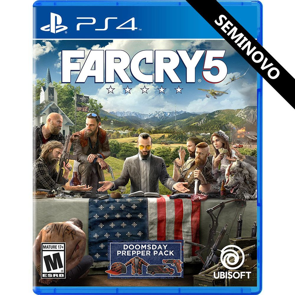 Far Cry 5 - PS4 (Seminovo)