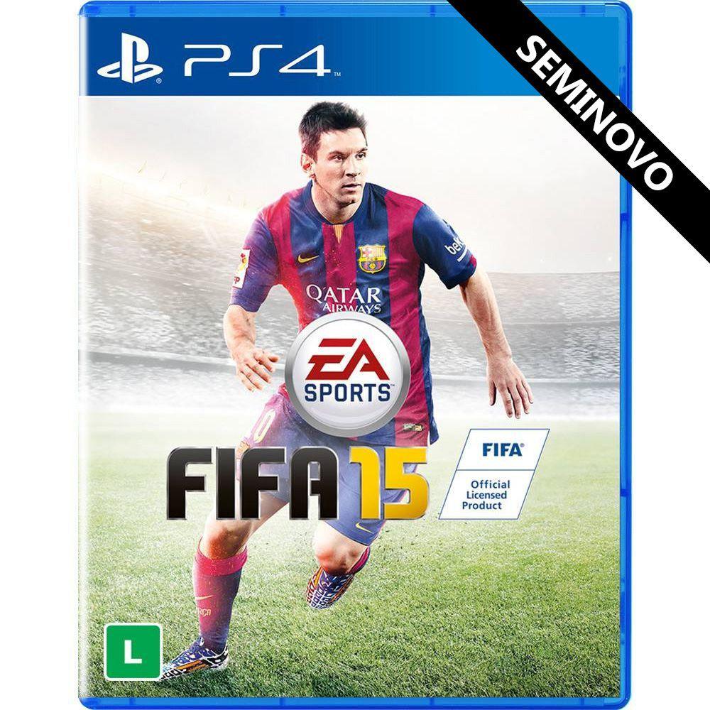FIFA 15 - PS4 (Seminovo)