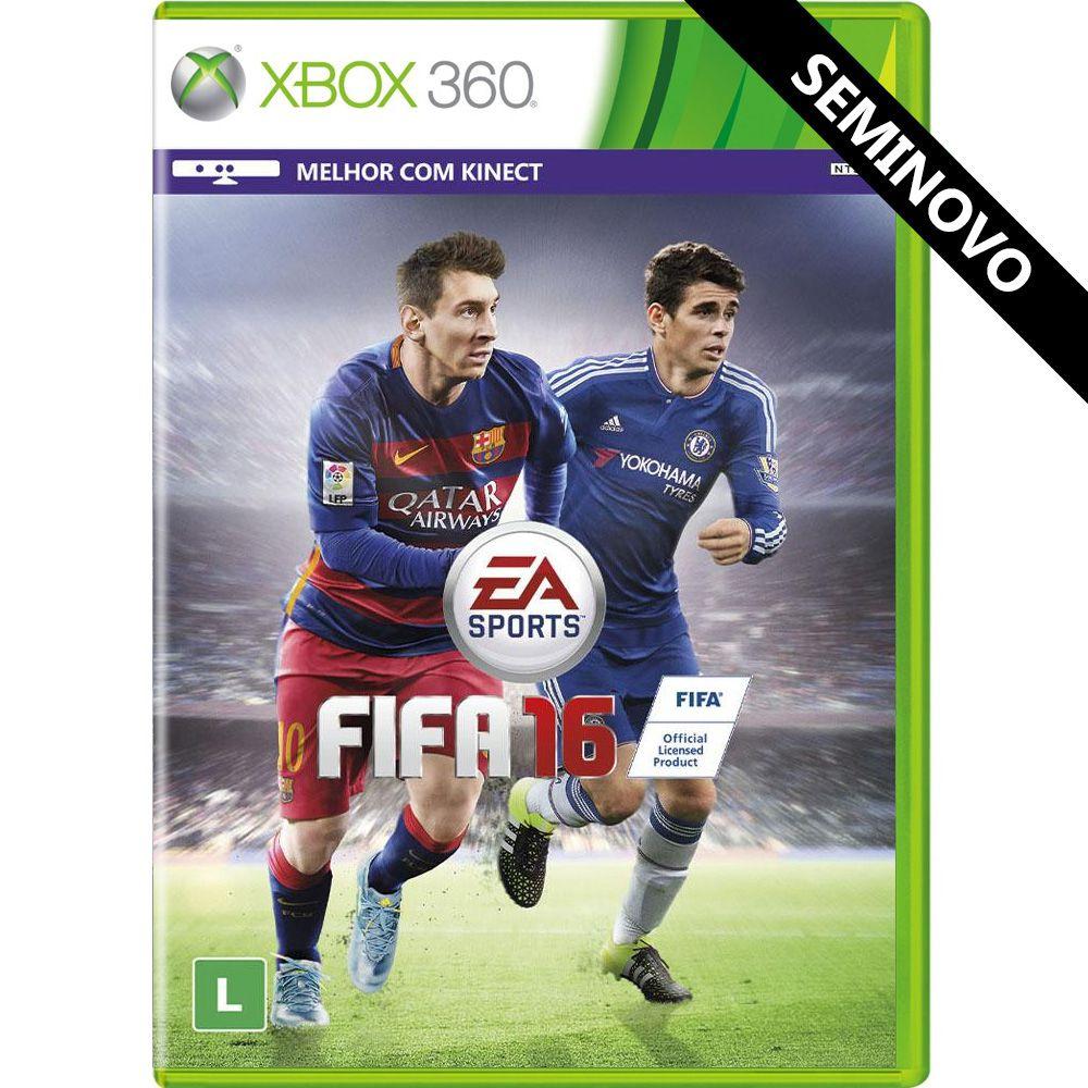 FIFA 16 - Xbox 360 (Seminovo)